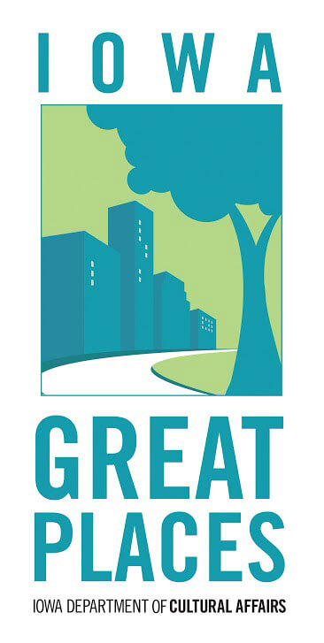 Iowa Great Places Logo
