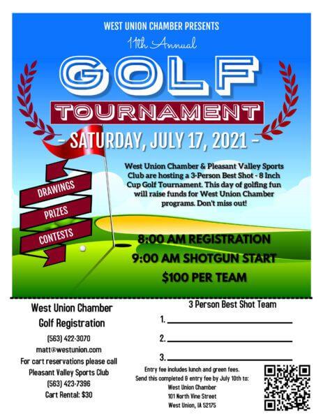 2021 Golf Tournament Team Registration