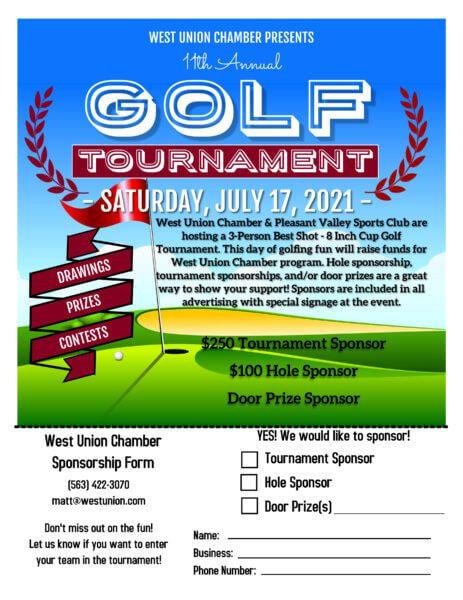 2021 Golf Tournament Sponsorship